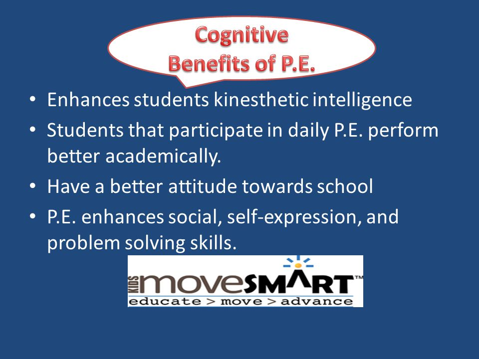 Cognitive Benefits of P.E.