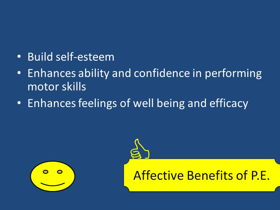 Affective Benefits of P.E.