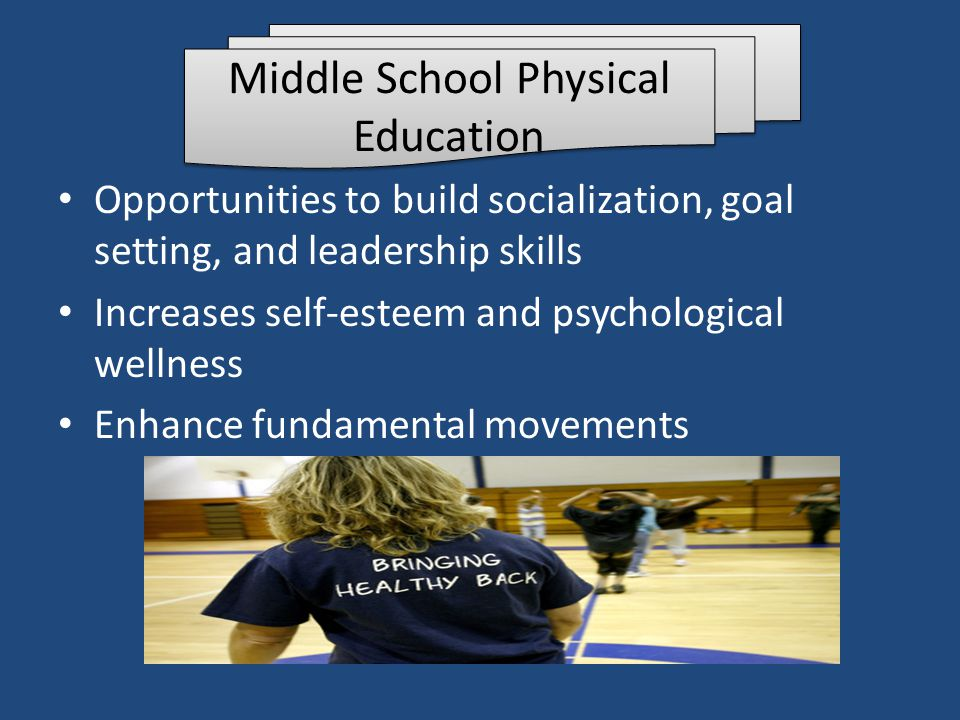 Middle School Physical Education