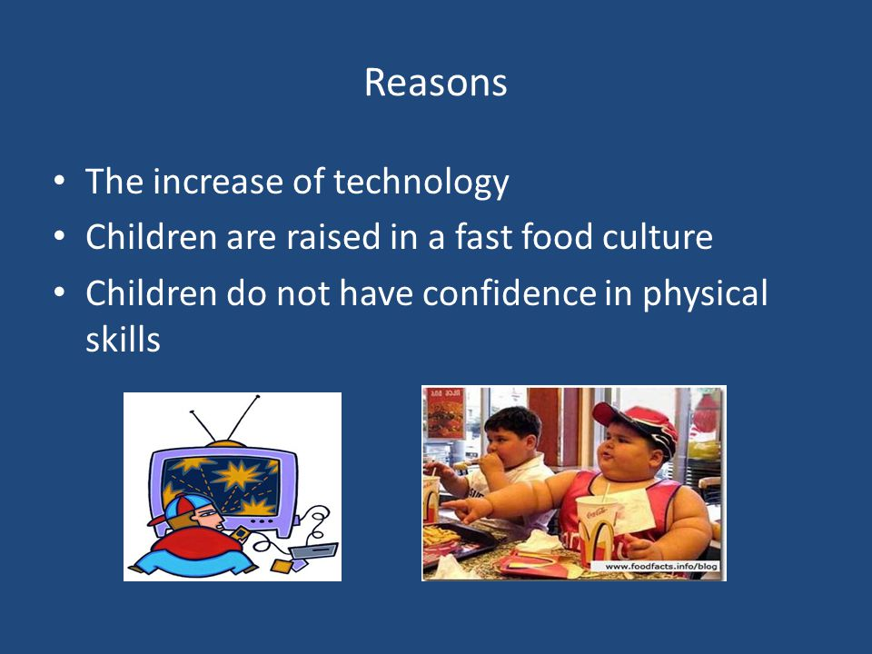 Reasons The increase of technology