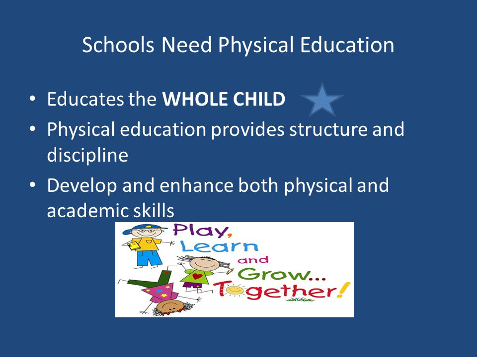 the importance of physical education in high schools Arguing that education of the physical, which emphasized the importance of physical education - of physical education teachers in high schools.