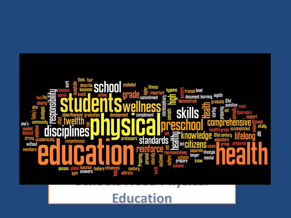 Schools Need Physical Education
