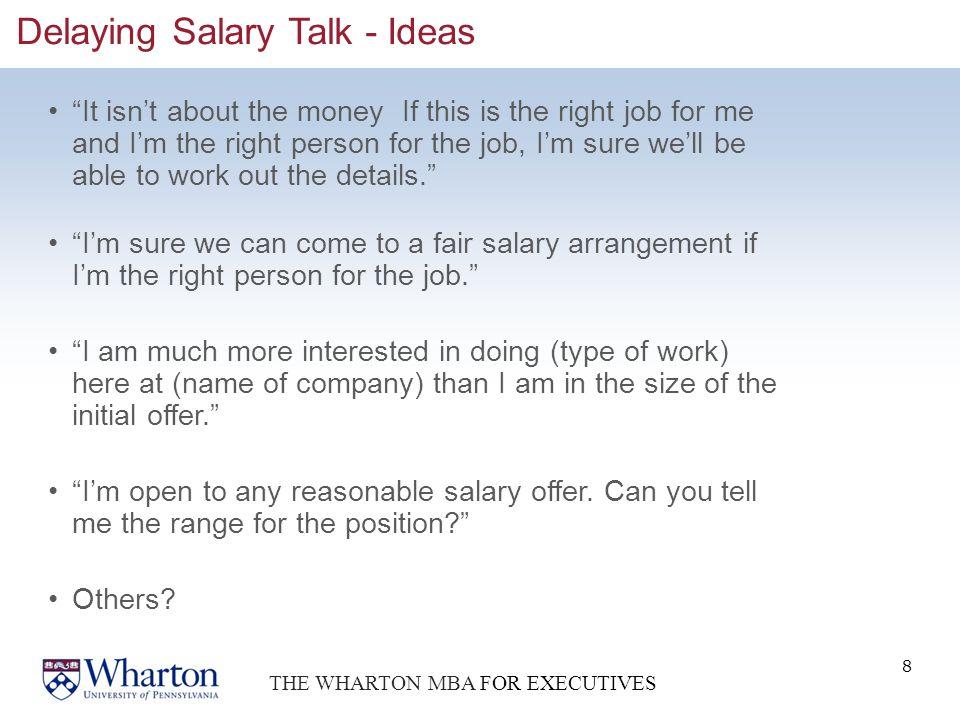 salary offer