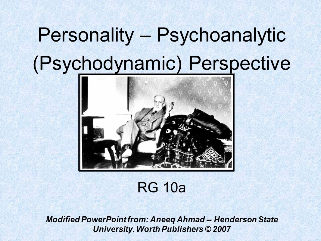 psychoanalytic perspective Pdf | the attempt to make meaning of the soul is inherent to psychoanalytic  inquiry, despite its historical diminution of religion and spirituality feminist  ideology.