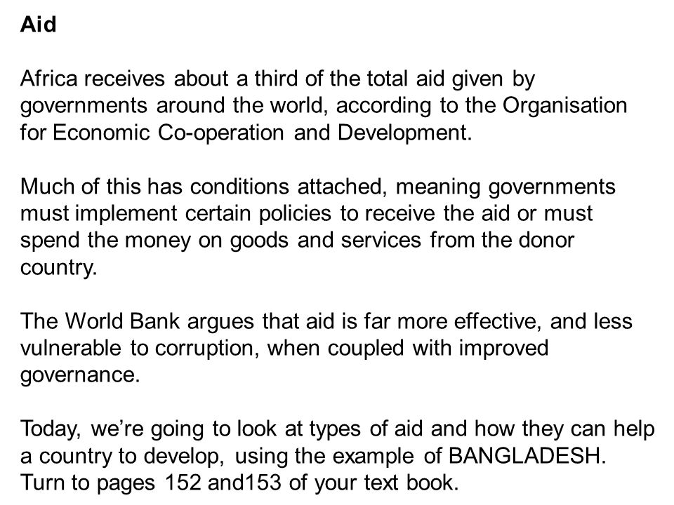 is aid effective in africa pdf