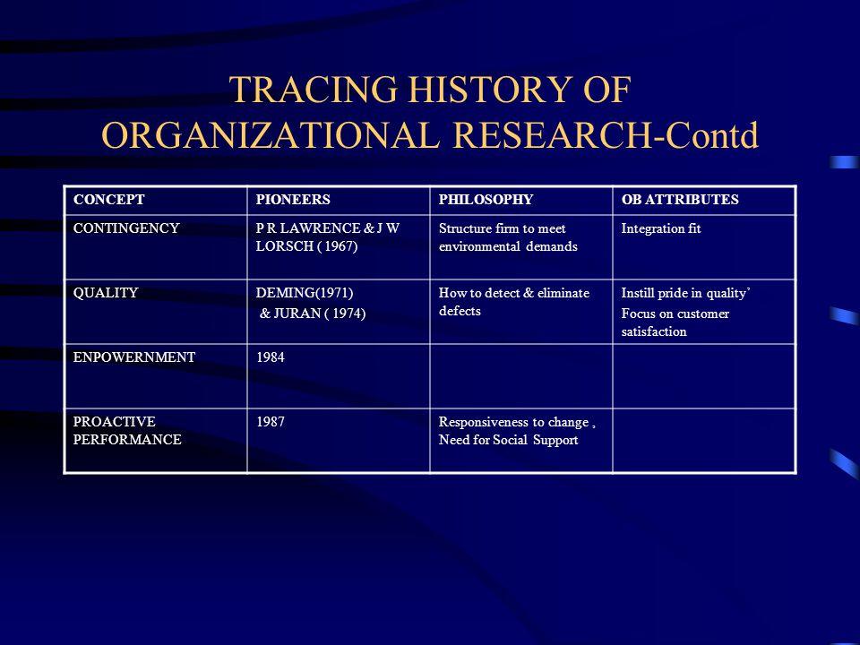 history of organizational behaviour Organizational behavior (ob) or organisational behaviour is the study of human behavior in organizational settings, the interface between human behavior and the organization, and the organization itself.