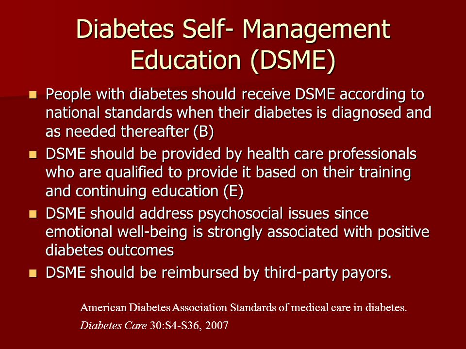 education key to managing diabetes 4 steps to manage your diabetes for life join a support group — in-person or online — to get peer support with managing your diabetes diabetes education.