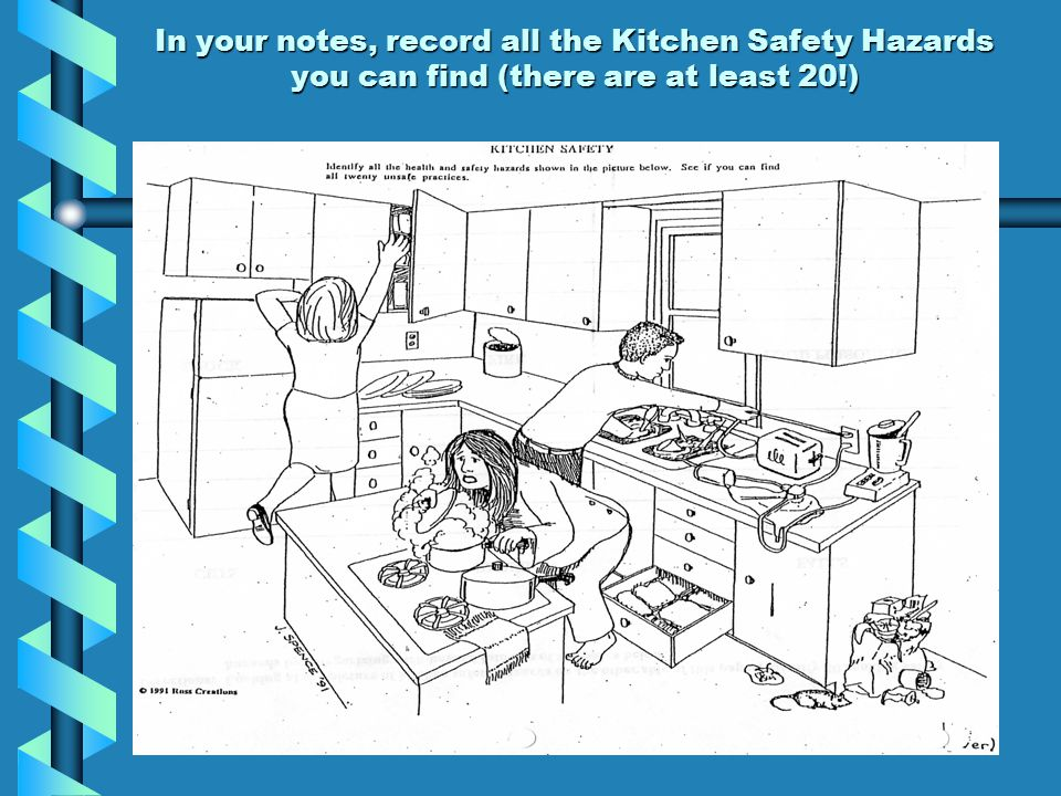 kitchen safety and sanitation its just common sense ppt video online download. Black Bedroom Furniture Sets. Home Design Ideas