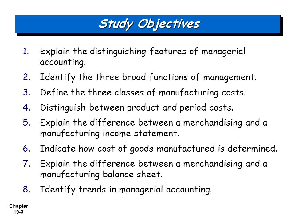 an analysis of the broad categories in accounting financial accounting and managerial accounting Chapter 1 what is managerial accounting the two broad categories of costs are manufacturing costs and financial versus managerial accounting.