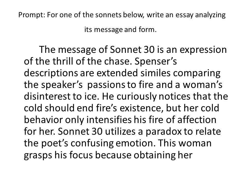 experience essay writing
