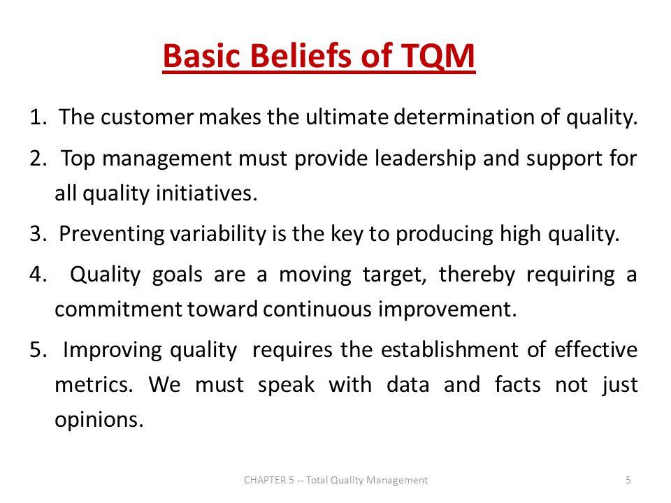basics of total quality management pdf