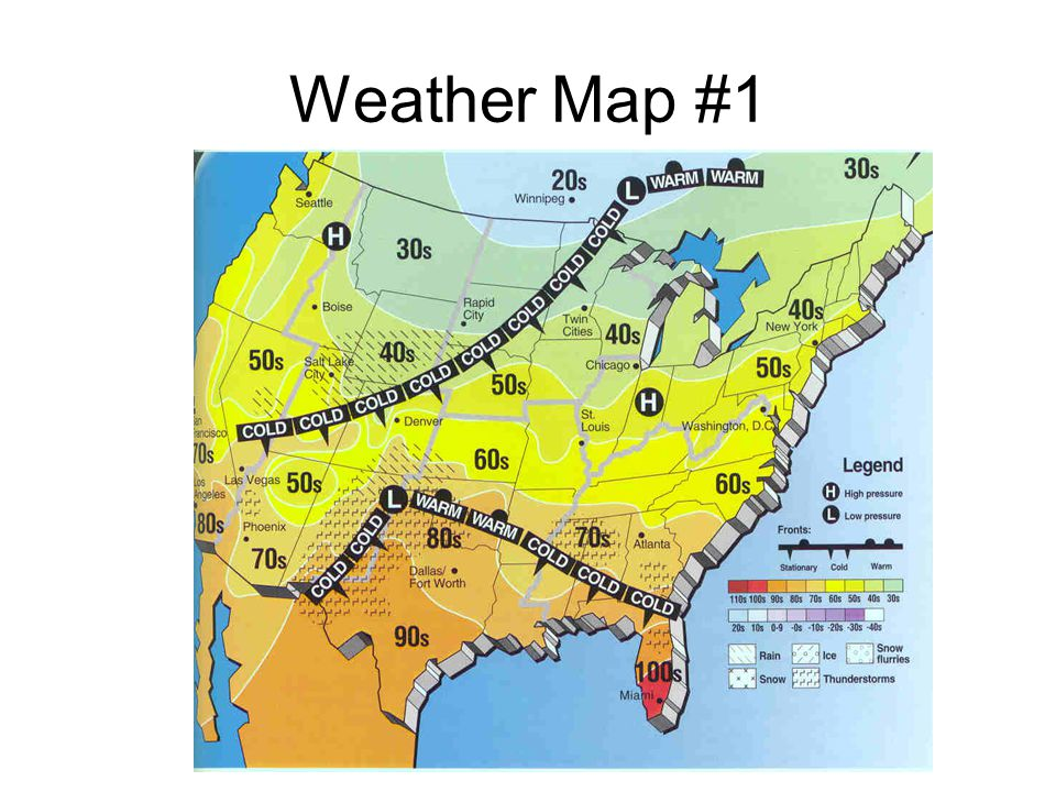 Weather Map #1