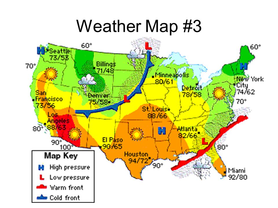 Weather Map #3