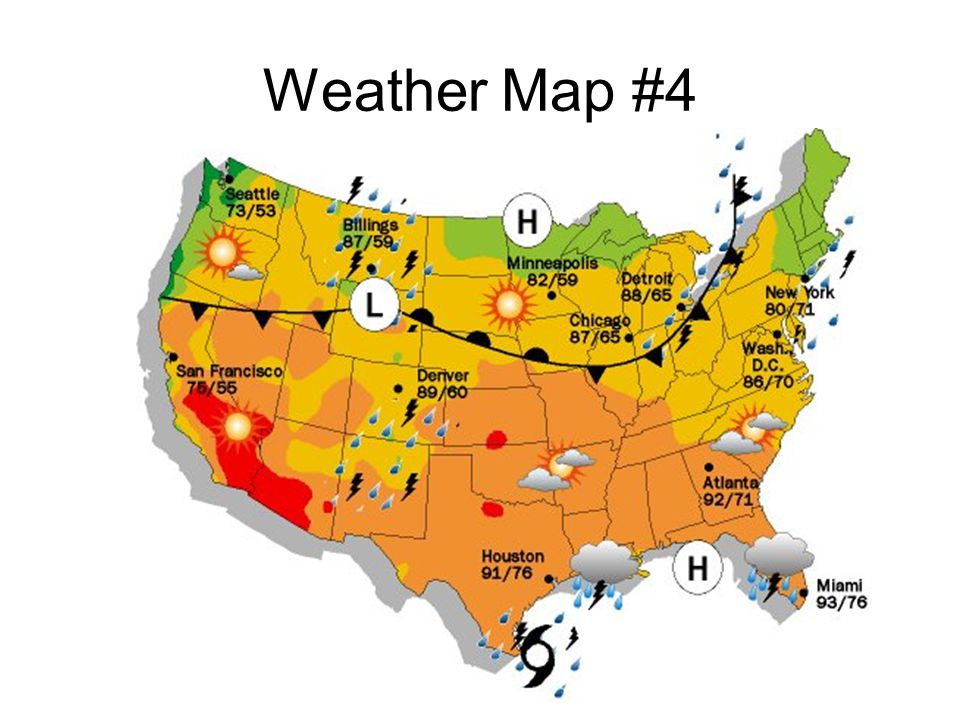 Weather Map #4