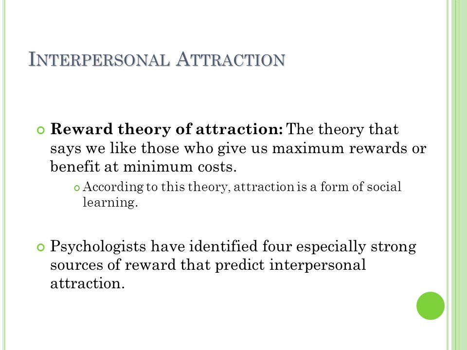 reward theory of attraction essay That is the power of dreams and thoughts and it is backed by the theory of the law of attraction the theory states that whatever we think and dream of, we can bring it into our life our dominant thoughts become our reality and the universe helps us to achieve the same.
