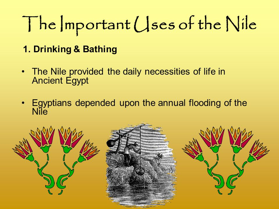 The gift of the nile river