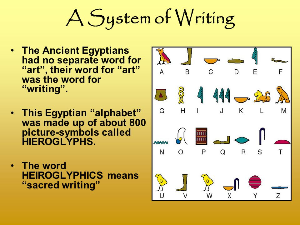 ancient egyptian writing system Ancient egyptian scripts hieratic script other writing systems if there is anything on this page that can be improved or corrected, please contact me.