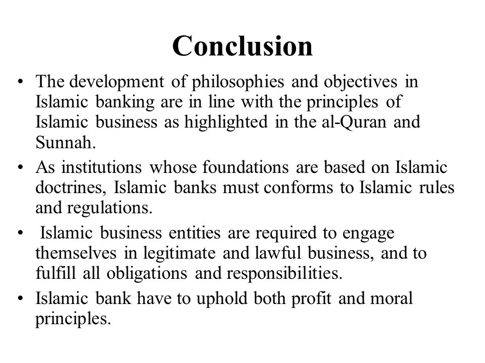Conclusion in e banking