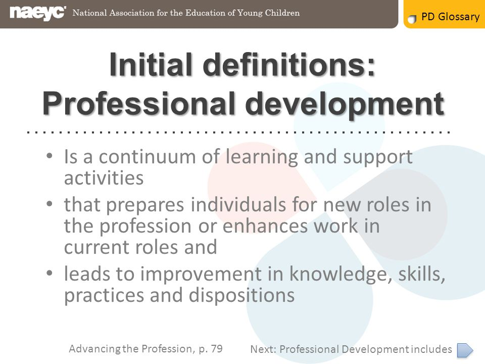 What do we mean when we talk about pd ppt video online download initial definitions professional development malvernweather Gallery