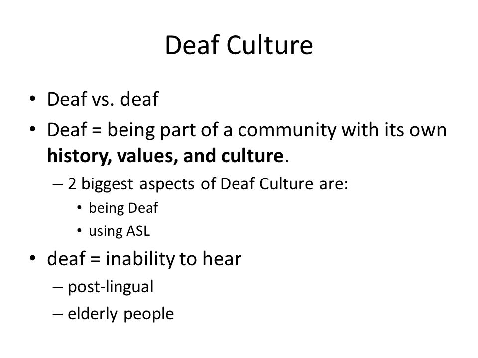 deaf culture versus deaf community essay The true life of many deaf children and still many deaf adults the true life of many deaf children and still many deaf adults.