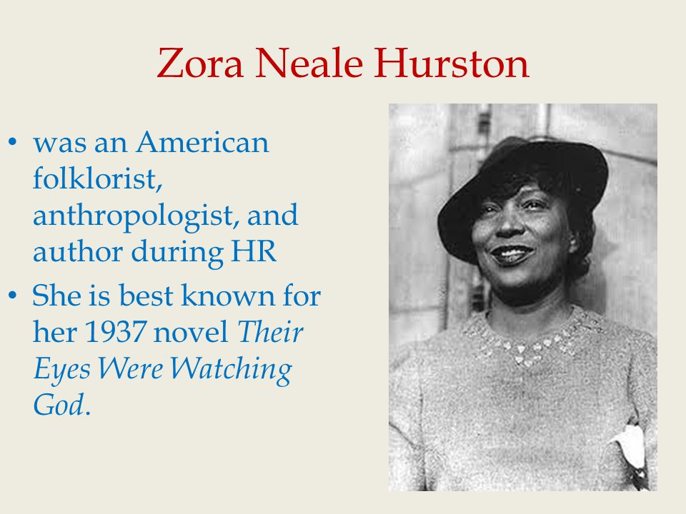 the discrimination of blacks by whites in the novel their eyes were watching god by zora neale hurst Their eyes were watching god by zora neale hurston has received mixed reviews over hurston's treatment of african americans' struggle her african american male contemporaries.