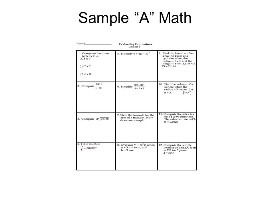 Tiered Assignments Differentiated Instruction Examples