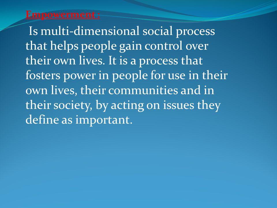 Empowerment :