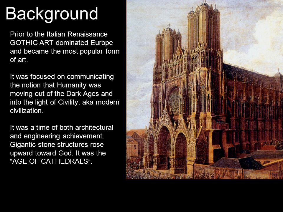 a history of how gothic style dominated the architecture in western europe European art history romanesque and gothic art romanesque architecture and sculpture romanesque architecture  dominated western europe from 1000 ad until 1200  church's were designed to accommodate visitors who came to pray before this relic and a new style of architecture and sculpture evolved to meet these needs.