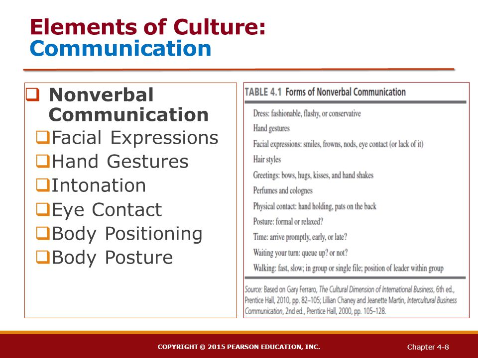 elements of nonverbal communication pdf
