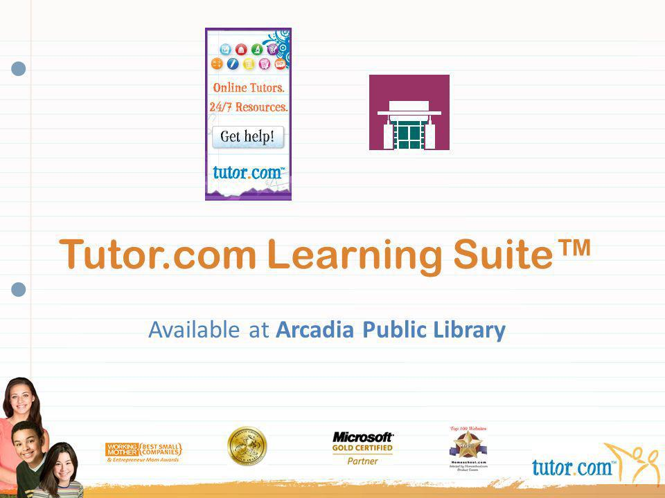 Tutor.com Learning Suite™