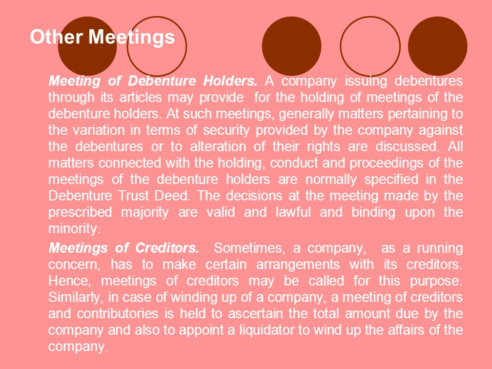 Other Meetings