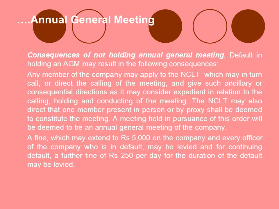 ….Annual General Meeting