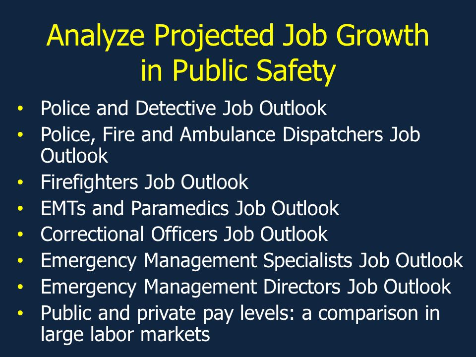 Firefighter Fatal Occupational Injuries   Job Outlook Is