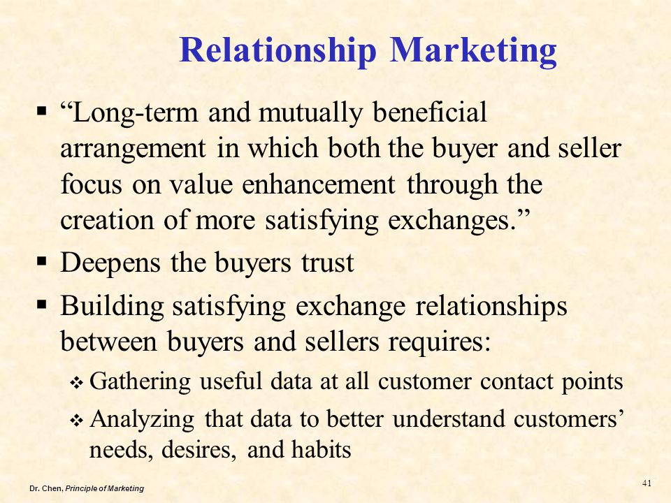 trust in buyer seller relationship Fairness and justice in revenue management: creating value for the buyer-seller relationship by buyer–seller relationships trust is at.