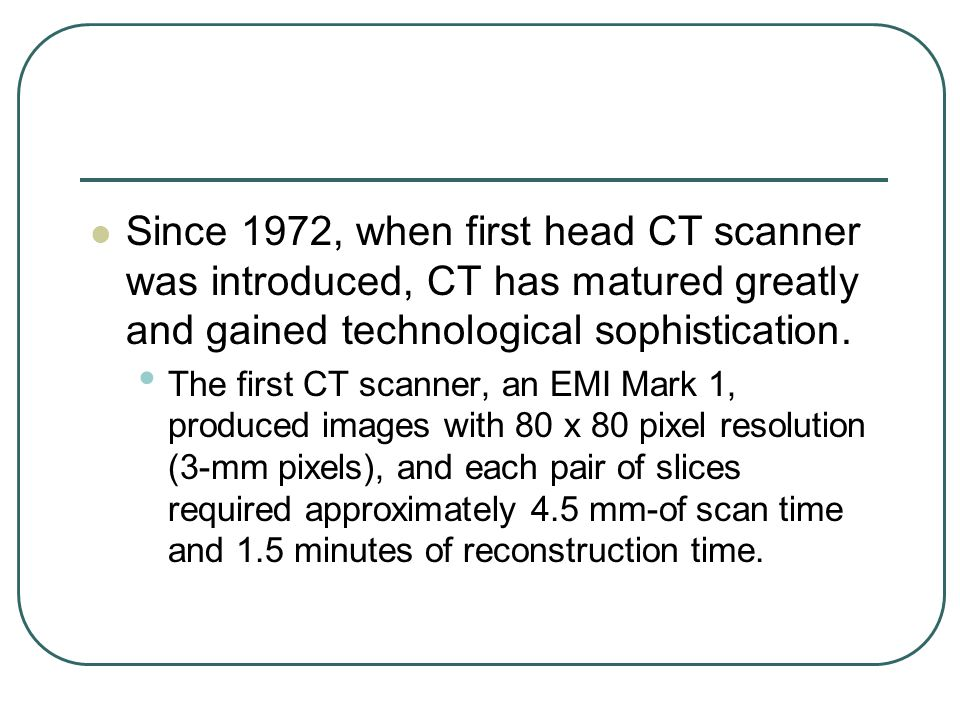 How the Beatles funded the CT scan