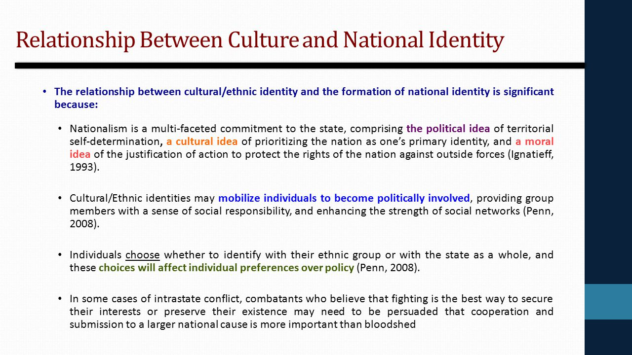 dialectic relationship of society and individual identity