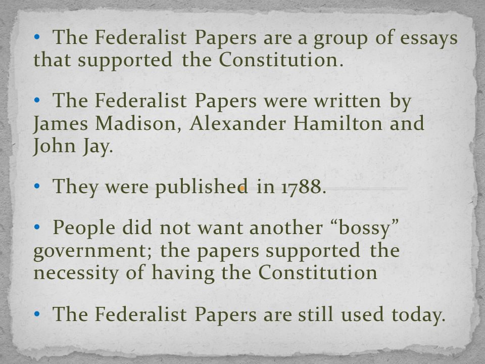 american federalism essay Read this american history research paper and over 88,000 other research documents federalism education is the key to our future and that is why it is such an important subject in the united.
