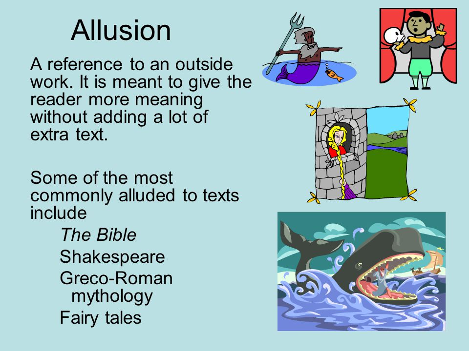 examples of allusions in literature choice image resume