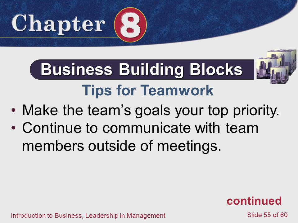 Business Building Blocks