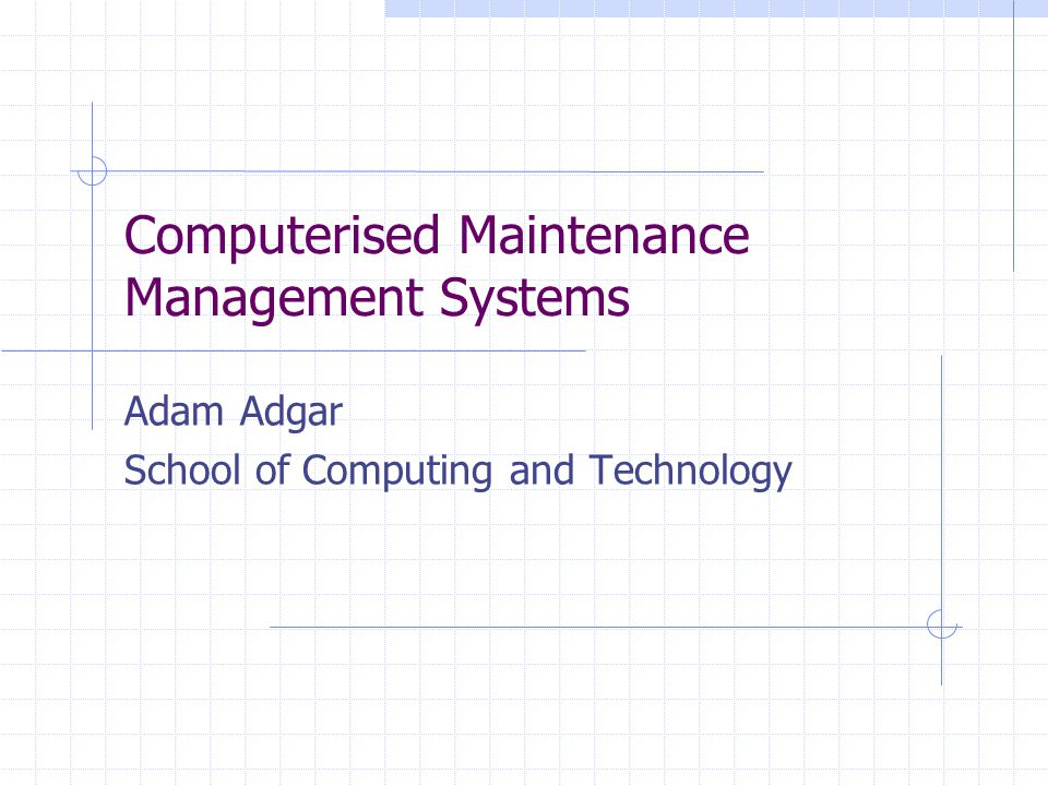 computerised hotel maintenance systems Whether you consider the advantages or the disadvantages of computerized systems more significant will depend on your own experience for those who use computer systems both at.