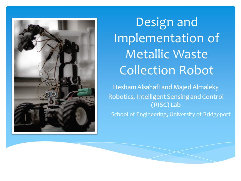 Design and Implementation of Metallic Waste Collection Robot