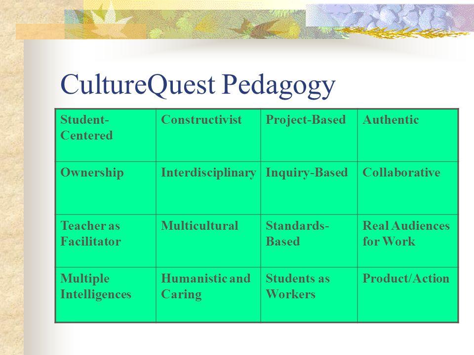 CultureQuest Pedagogy