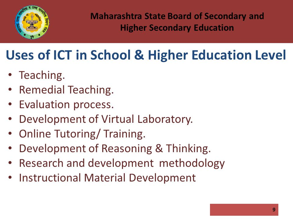 use of ict for education Guiding questionswhat is known about which icts are most useful to benefit education what do we know about the usefulness appropriateness and efficacy of specific icts including radio.