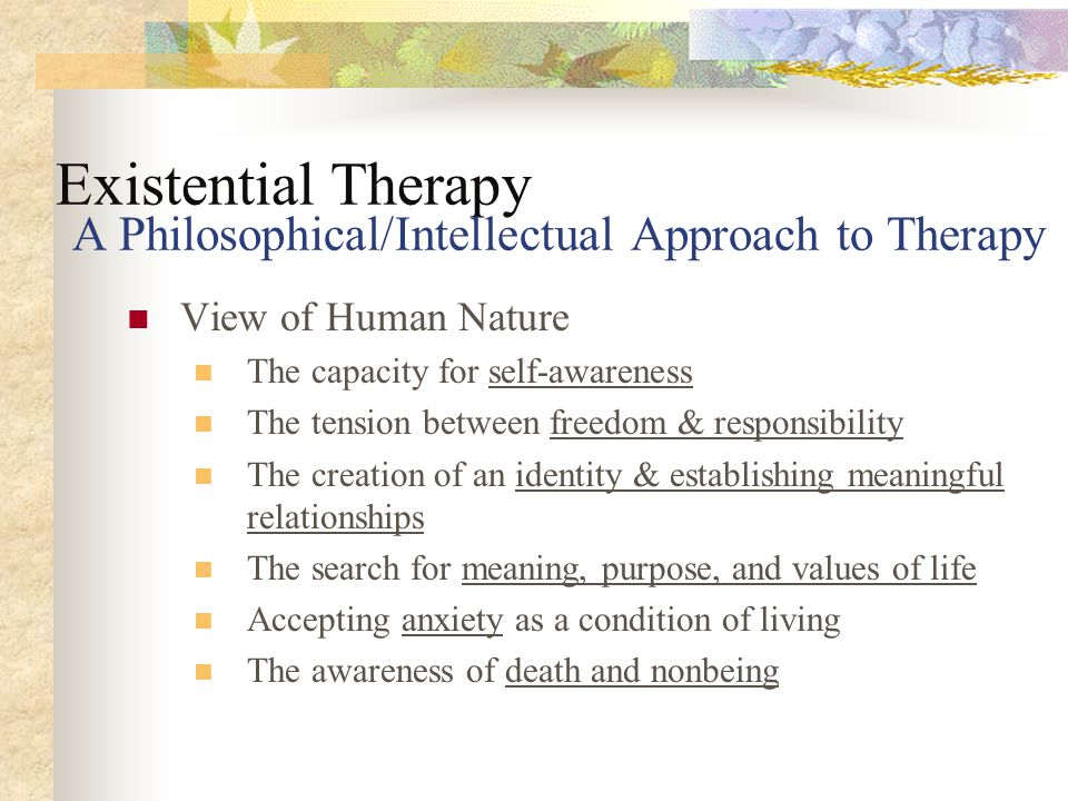 i thou relationship existential therapy and death