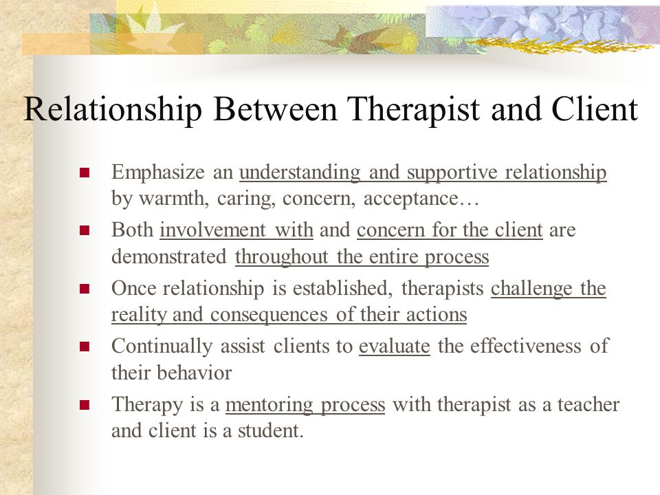 client therapist relationship existential therapy videos