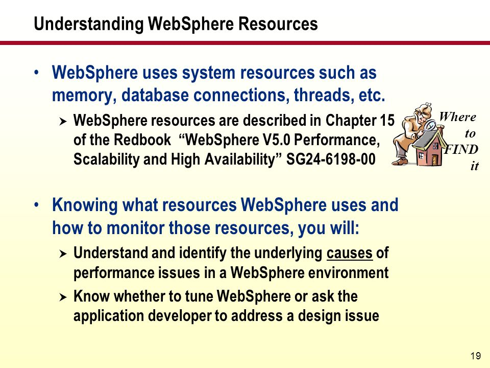 Understanding WebSphere Resources