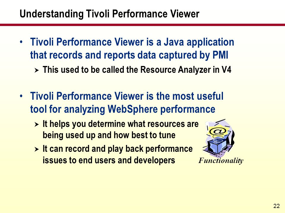 Understanding Tivoli Performance Viewer