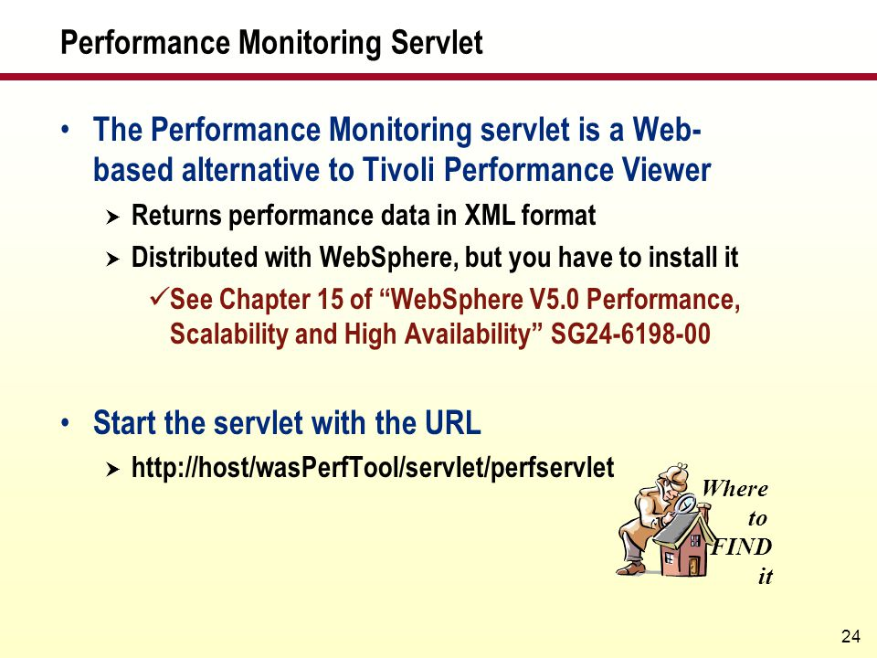 Performance Monitoring Servlet