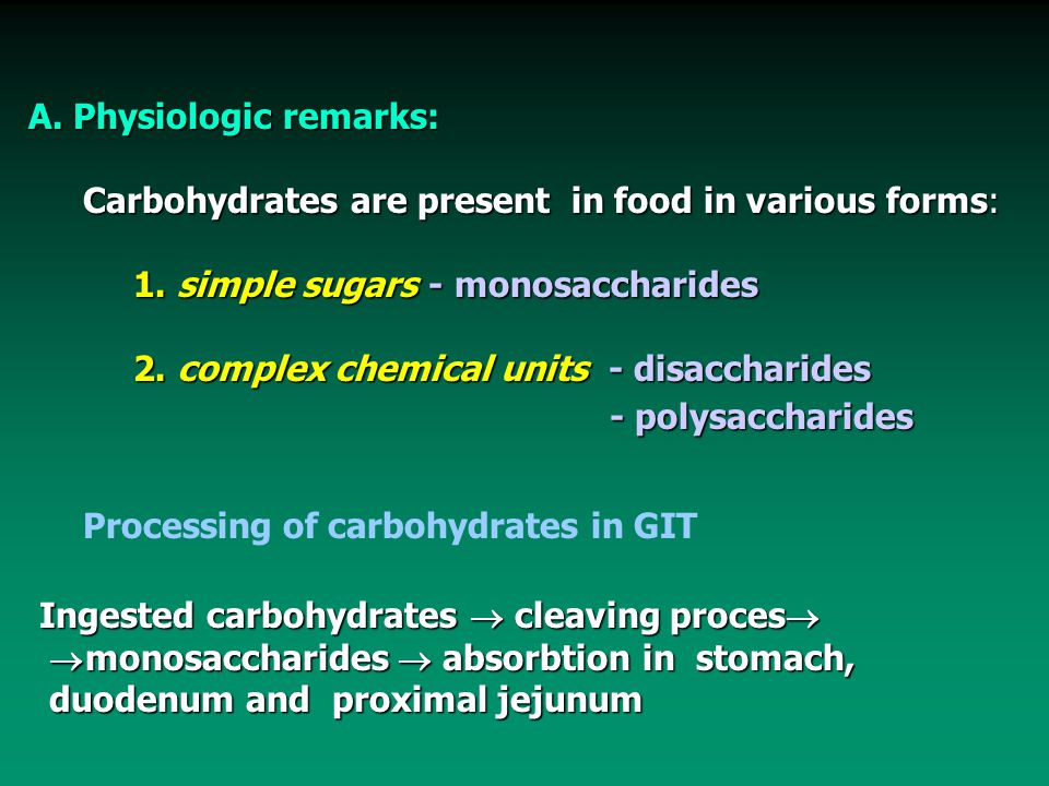 PATHOPHYSIOLOGY OF CARBOHYDRATE METABOLISM - ppt video online download