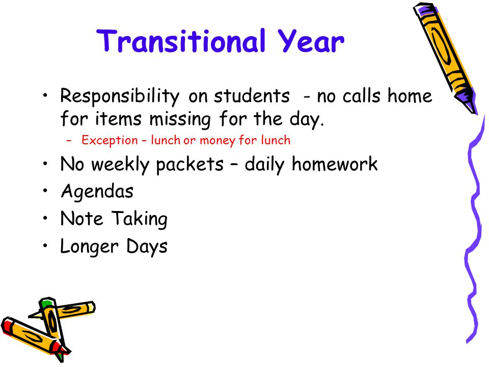 homework agendas